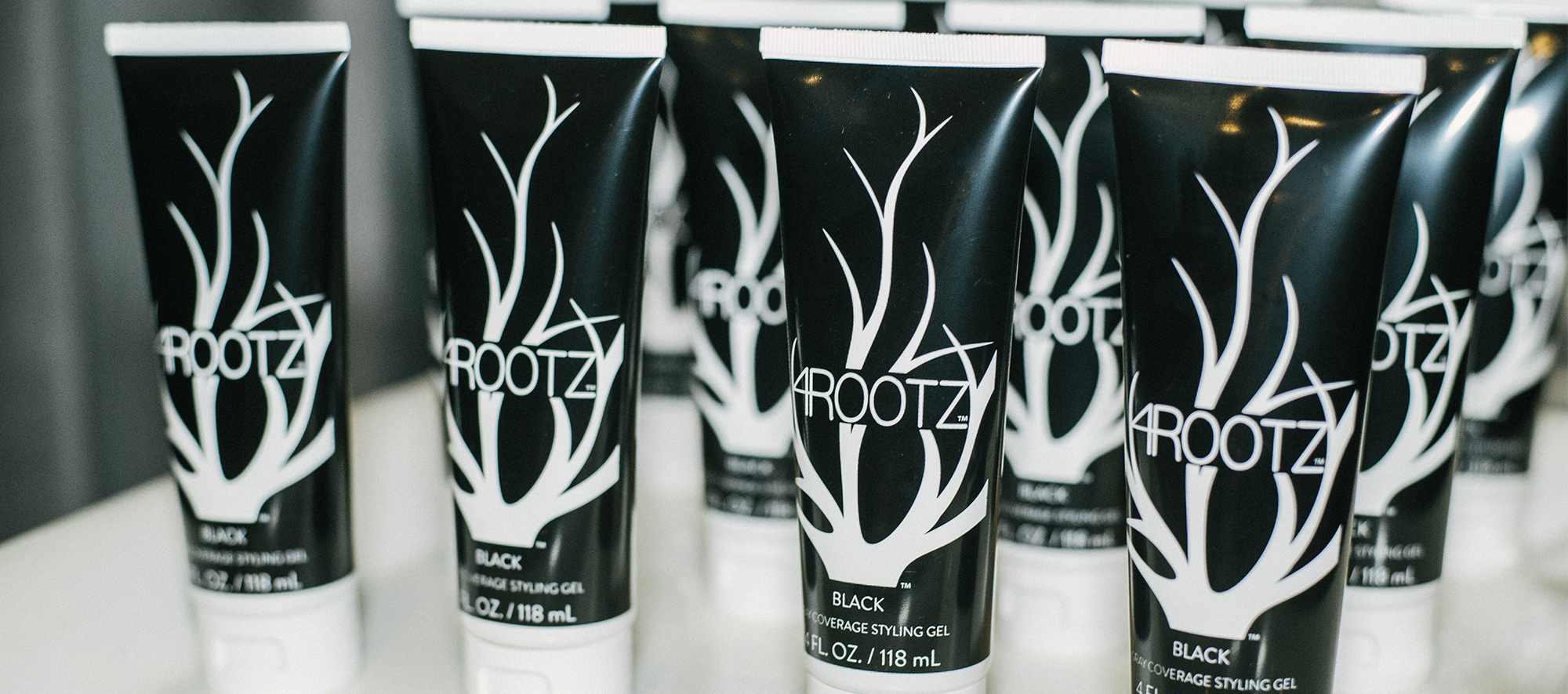 4RootZ Hair gel bottle design